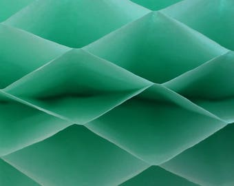 6-pack Mint Green Honeycomb Paper Popup Craft Pad (7 inches X 9 inches each)