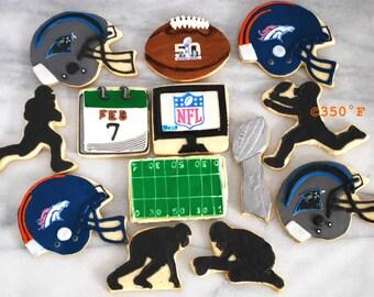 Superbowl 2016 cookies