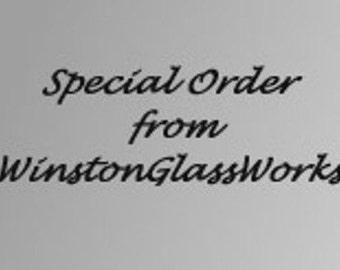 Special Listing for Amy - Single  champagne flute to Replace Broken Item