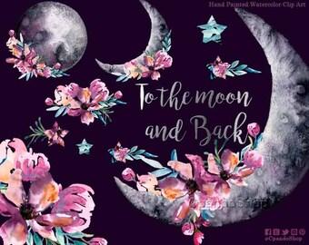 Moon Stars Nursery Etsy