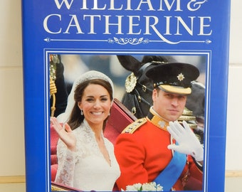 Royal Wedding Prince William Catherine Middleton hard cover book
