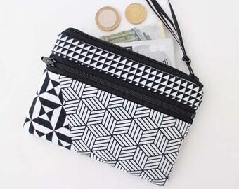 Coin purse zipper pouch Original ANJESY Designs.