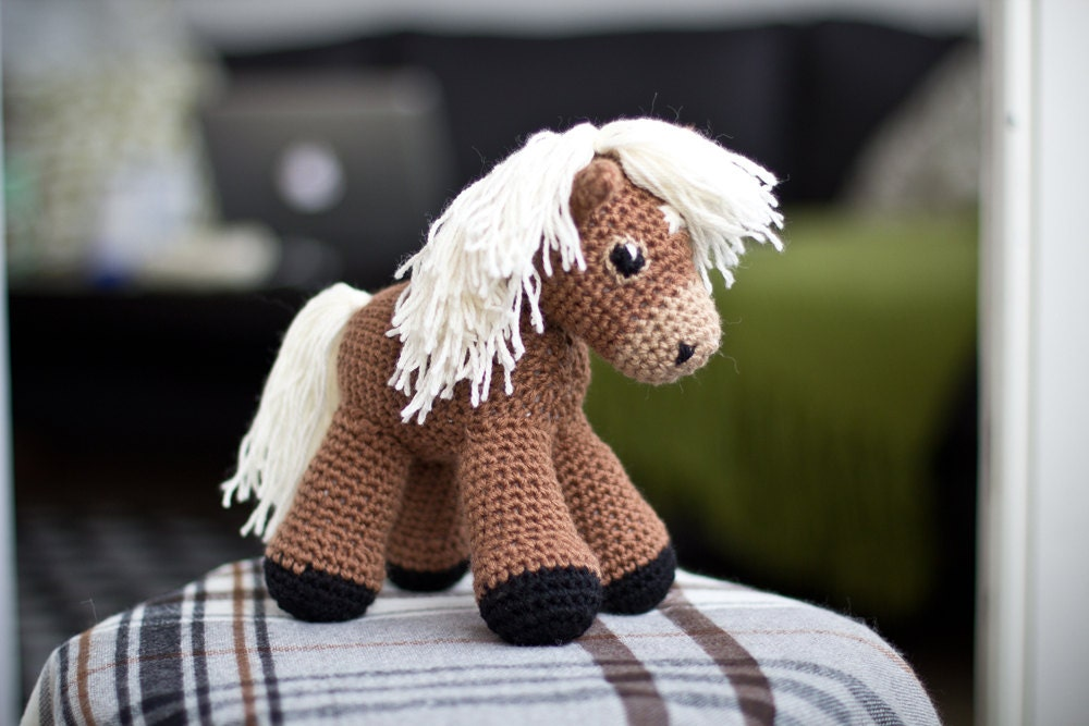 Free Crochet Amigurumi Horse Patterns