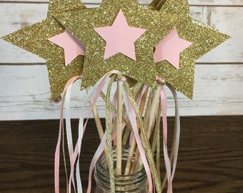 Fairy Wand | Princess Wand | Fairy Birthday Party Favors | Princess Birthday Party Favors | Fairy Centerpieces | Princess Centerpieces