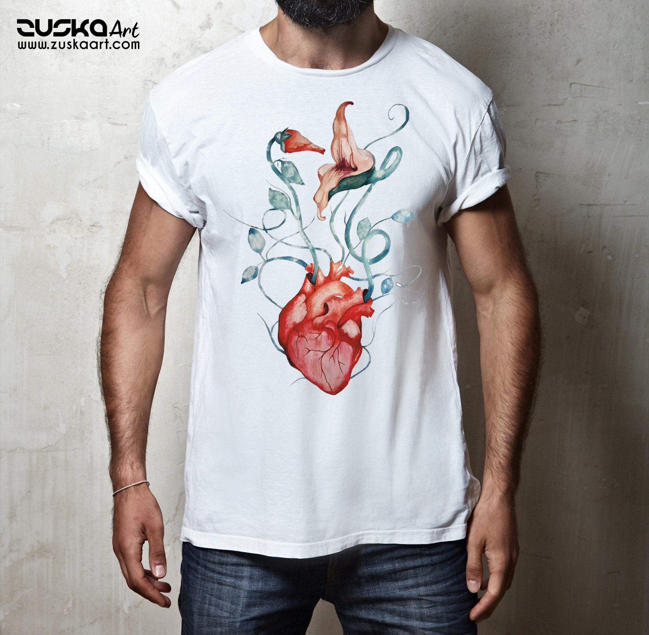 Pink Floyd The Wall Flowers Unisex T Shirt Rock Music Shirt