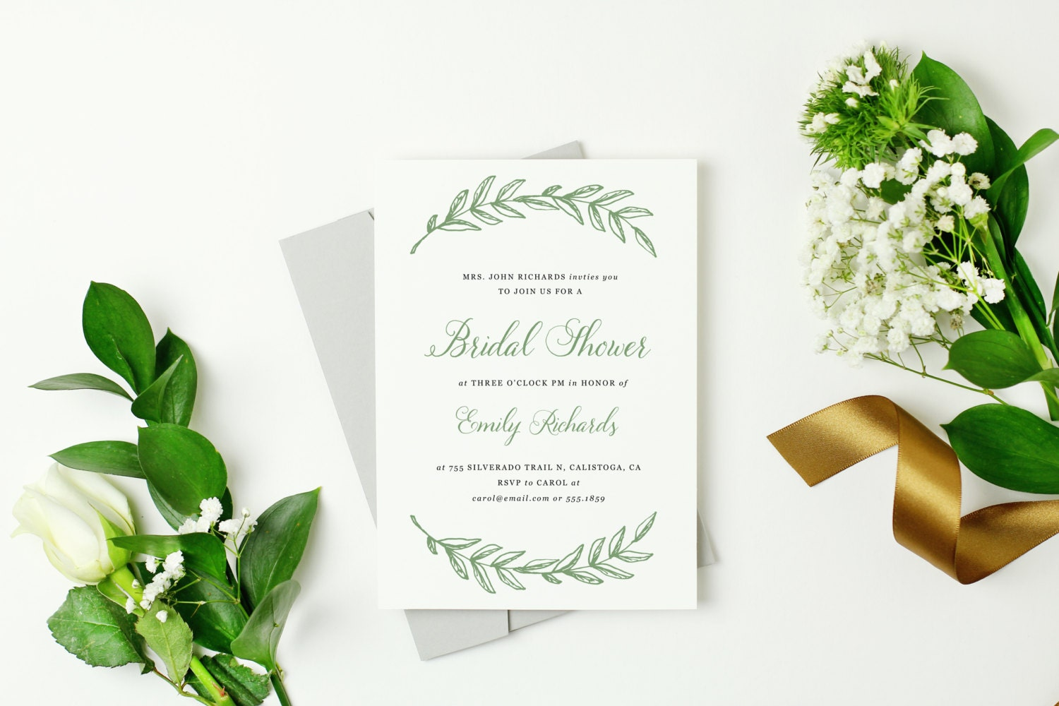 free bridal shower templates for word