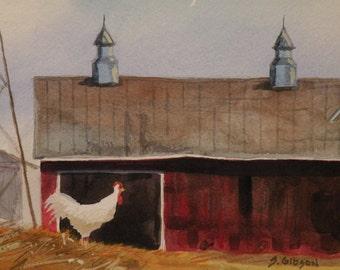 Barn, Jasper Cribbs Rooster