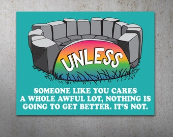 Unless PRINTABLE Protest Poster | Climate March, Climate Change, Trump Protest Sign