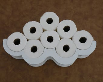 Toilet Paper Wall Rack TP Holder Bathroom Tissue Paper Storage Water Closet Not Cloud