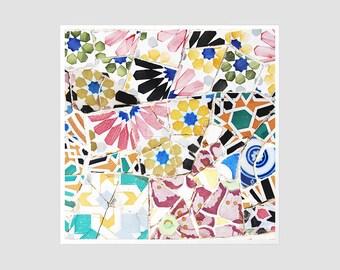 Mosaic No.2 - 8x8 Original Signed Photography
