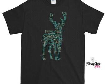 Electric Deer T-shirt