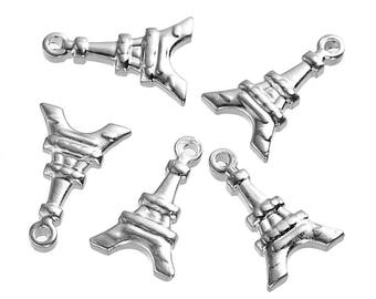 Charm Eiffel Tower in stainless steel 1.7 cm