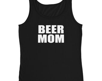 Beer Mom Shirt Tank Top Mom Shirt With Saying Funny Mothes Day Gift From Daughter