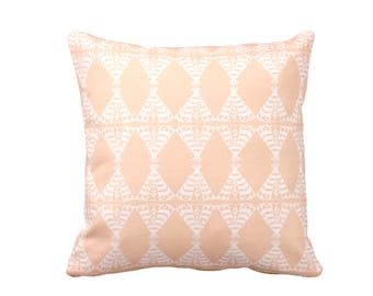 11 Sizes Available: Peach Pillow Cover Peach Throw Pillow Cover Decorative Pillows for Bed Pillows Pink Pillows Coral Pillows Accent Pillows