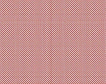Riley Blake. Princess Dreams. Dot Red - Cotton Fabric BTY - Choose your cut