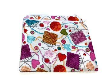 Reusable Snack Bags Set of 2 Knitter Knitting