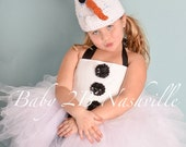 Basic Snowman Tutu Costum...