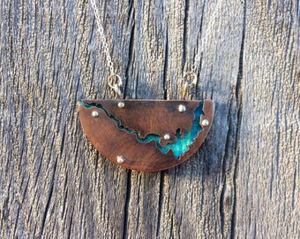 Custom River Necklace