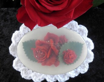 Rote Rose-Glycerin-Seife