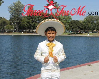 Authentic Mariachi  Charro Boy Suit