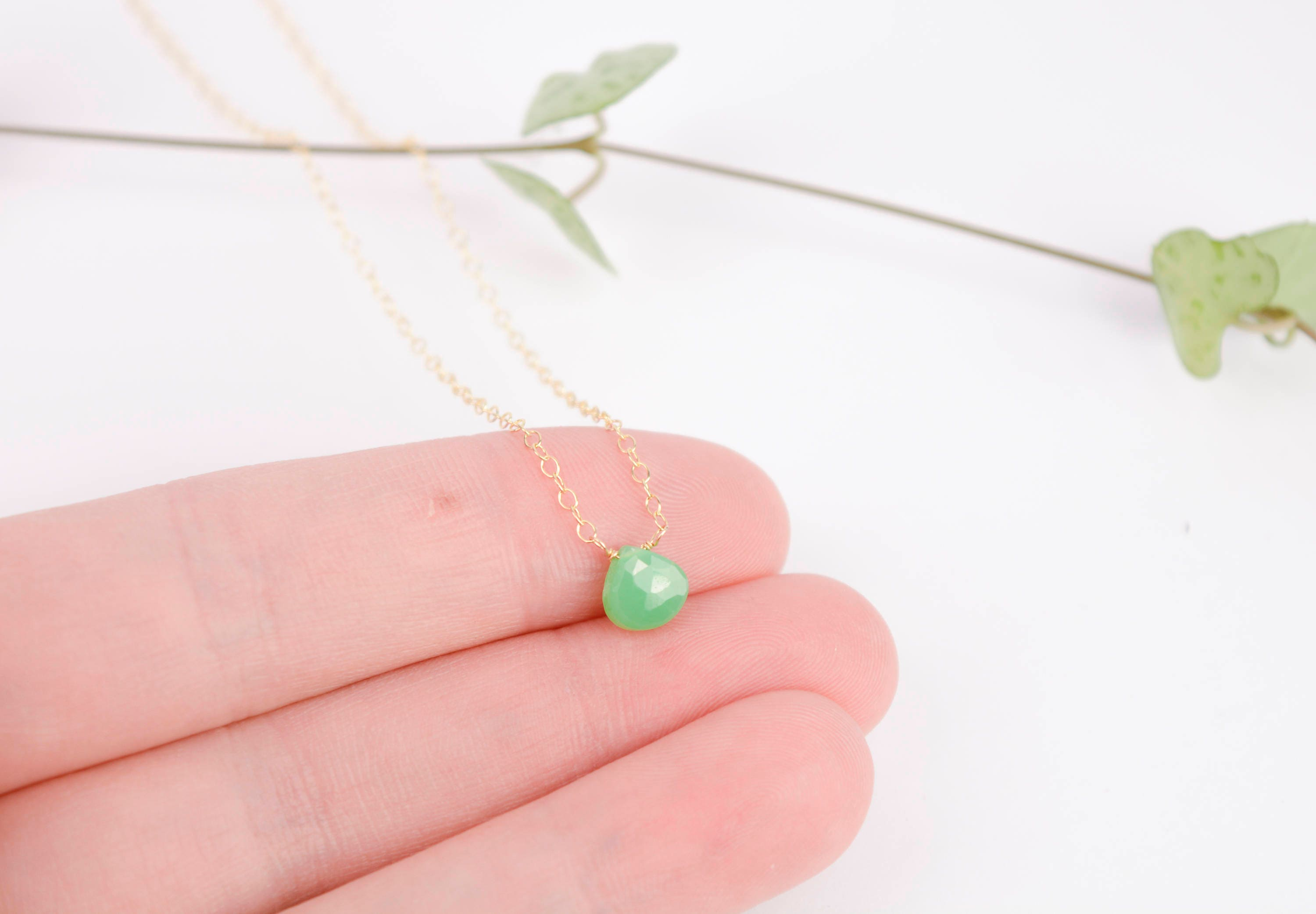 test shop chrysoprase davina necklace combe