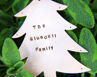 Christmas Tree Ornament - Ornament For Tree- Gift For Family - Family Ornament -