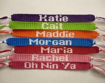 Friendship Bracelet Bangles