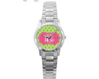 Design Your Own Monogrammed Watch with Monogram