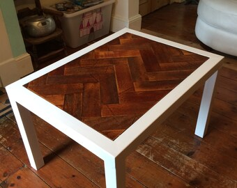 Parquet coffee table