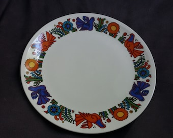 Colorful Vintage Villeroy and Boch ACAPULO Dinner Plate