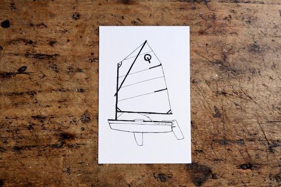"""Card """"Optimist"""" """""""