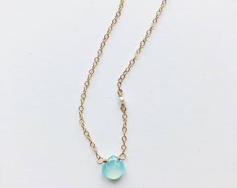 """""""Blue Bell"""" Necklace"""