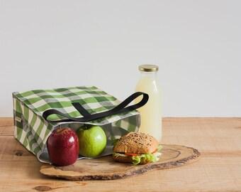 Bolsa almuerzo adulto niño. Bolsa de comida reutilizable. Productos cero residuo. Bolsa picnic. Comer en el trabajo.