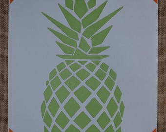 Picture graph - Tropical pineapple & trendy