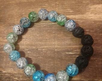 Diffuser lava bead bracelet