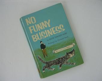 No Funny Business Book  1962