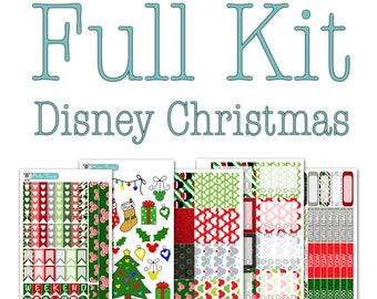 Disney Christmas Collection - Disney Planner Stickers