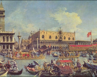 Poster, Many Sizes Available; Venice C1730 Giovanni Antonio Canal (Canaletto)