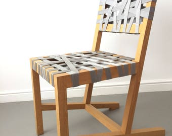Unique Rare Design Modern Silver/Grey Berlage chair Richard Hutten