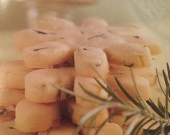Rosemary Shortbread Cookies OR Rosemary & Lemon Shortbread Cookies