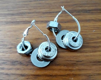 Nuts and Bolts Earrings