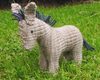 Rosa the Donkey Pattern, PDF, Waldorf, Digital Download