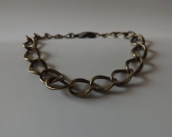 Men, women & brass bracelet