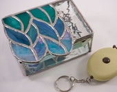 Stained glass trinket box...