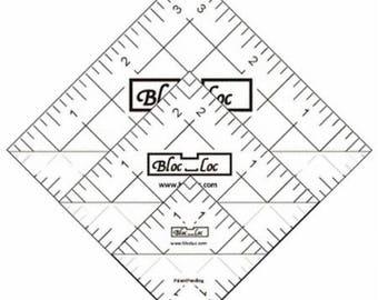 "Bloc Loc Set 4 -  1.5""  2.5"" and 3.5"" Ruler"