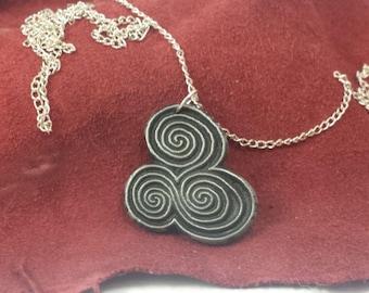 newgrange celtic inspired  pendant