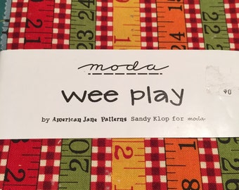 Moda American Jane wee Play Charm Pack by Sandy Klop