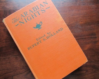 Arabian Nights Vintage Children's Classic Illustrated by W H Lister