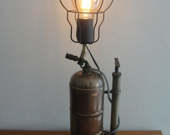 Lamp original object away style industrial steampunk