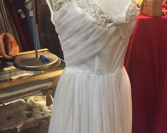1950s Emma Domb Gown; Terrific for Bridal